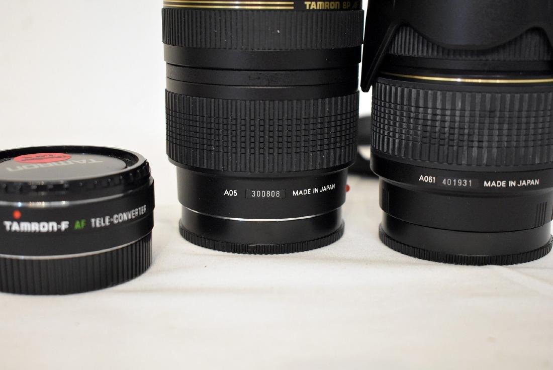 5 Assorted Tamron Lenses & Lens Hood - 3