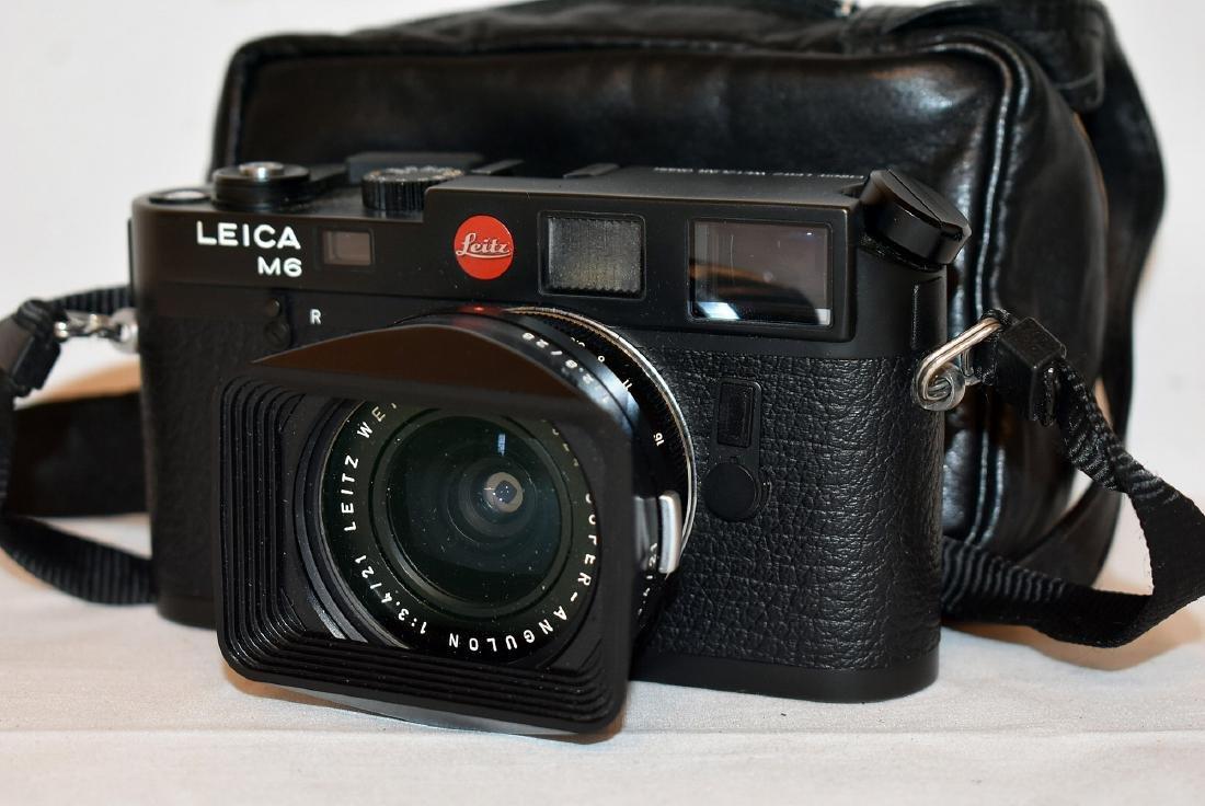 6e3dafefbaf7 Leica M6 Black Camera - Oct 29, 2018 | Briggs Auction, Inc. in PA