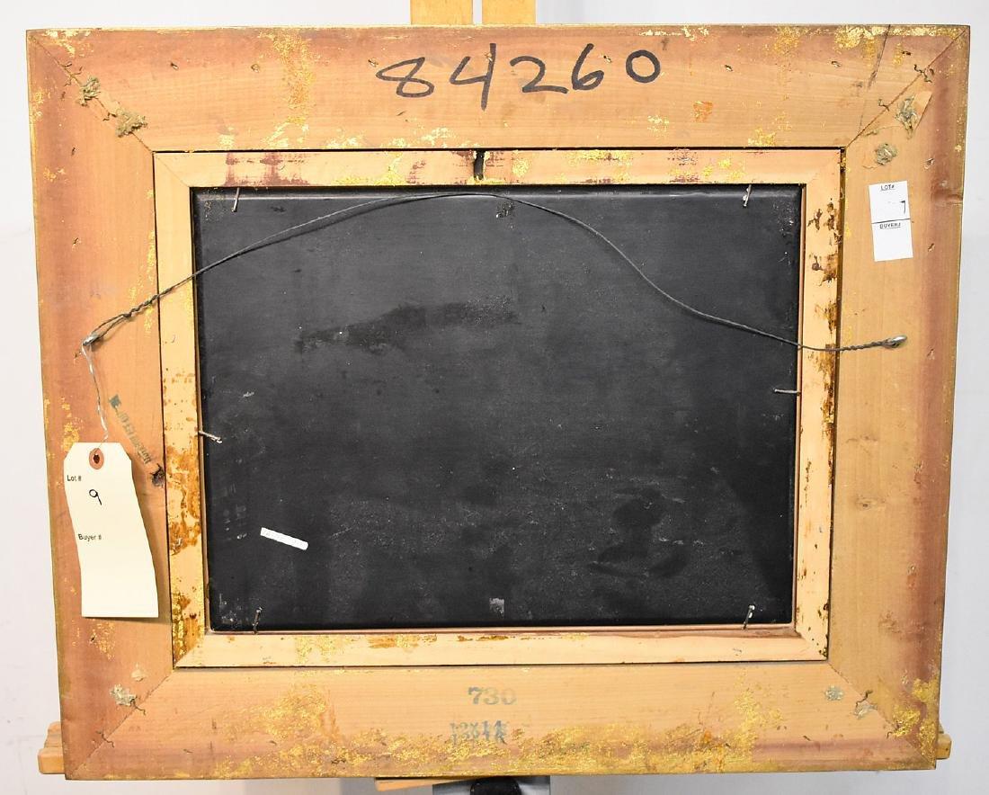 N. Bingham. Oil on Panel, Winemaking - 4