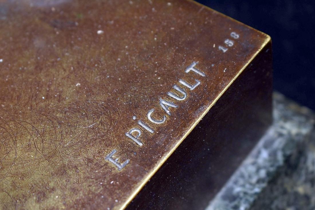 After Emile Picault Bronze Sculpture, Le Devoir - 3