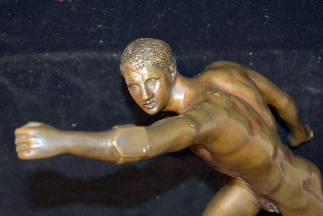 Musee du Louvre Bronze Sculpture - 2