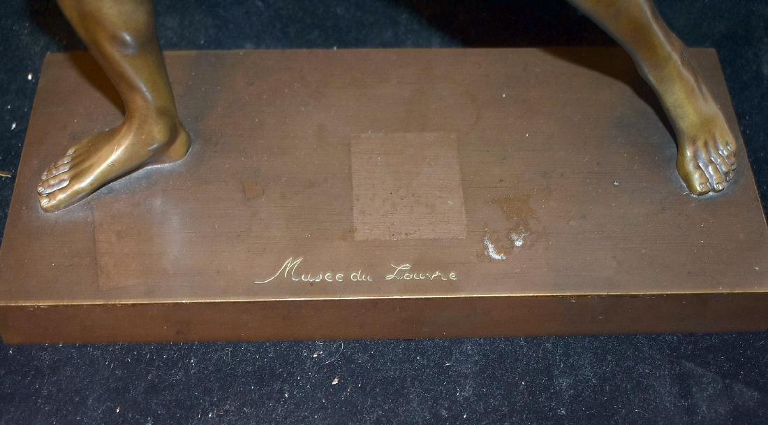 Musee du Louvre Bronze Sculpture - 3
