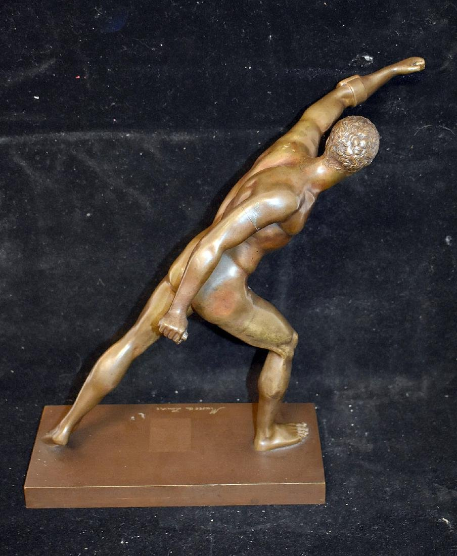 Musee du Louvre Bronze Sculpture - 4
