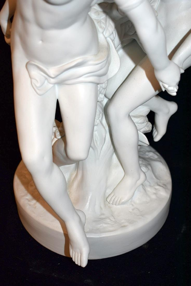 Parian Figural Grouping - 3