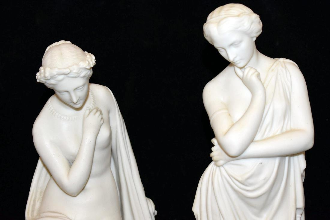 Four-Piece Parian Figural Grouping - 2