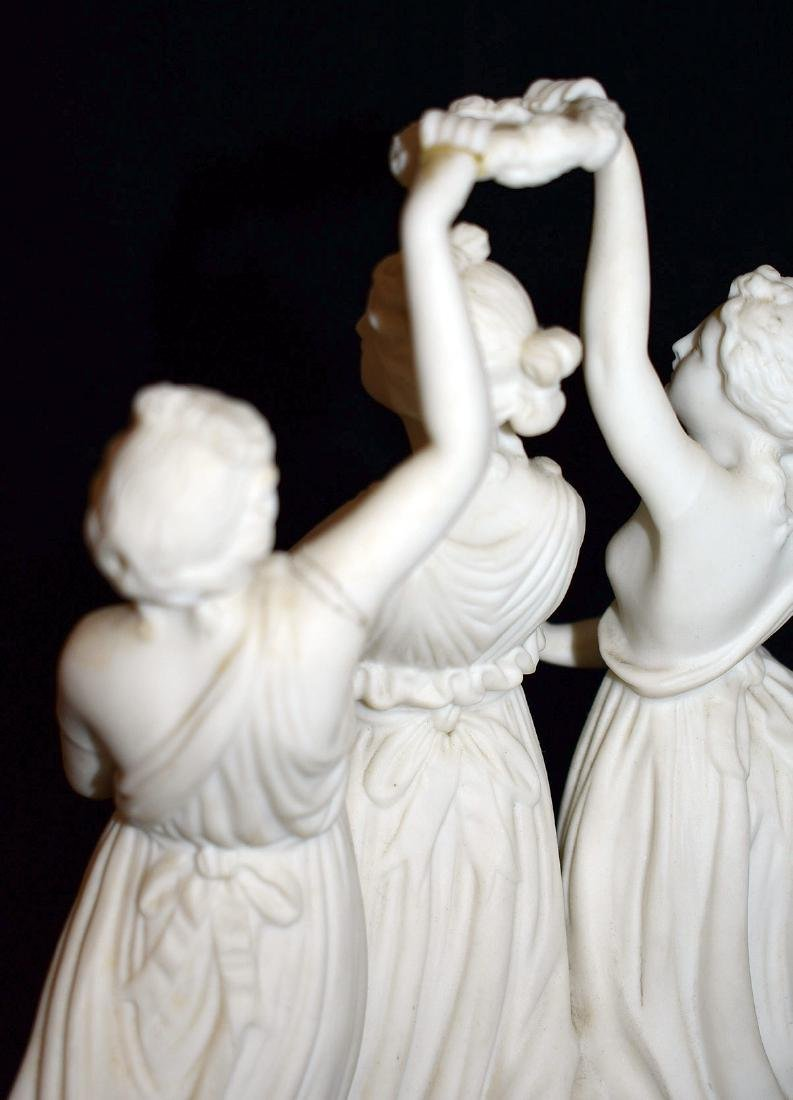 Four-Piece Parian Figural Grouping - 4