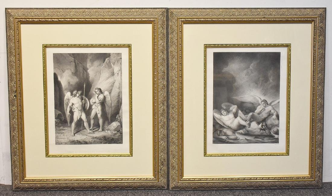 Two Etchings After Jean Flatters