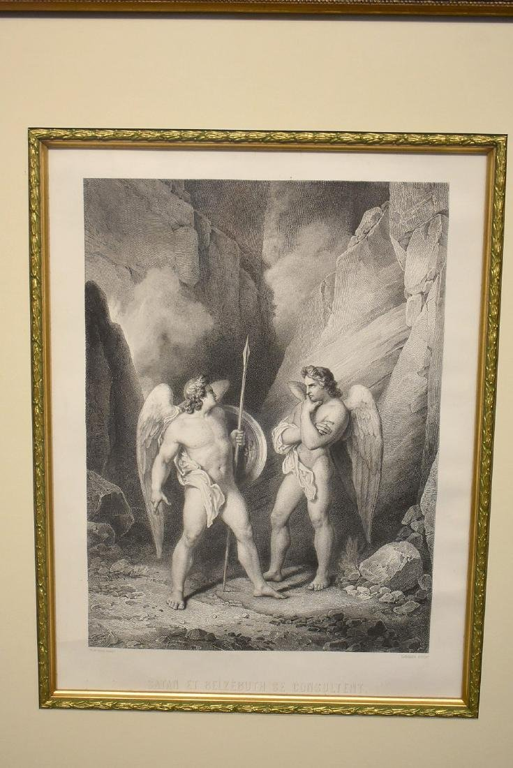 Two Etchings After Jean Flatters - 2