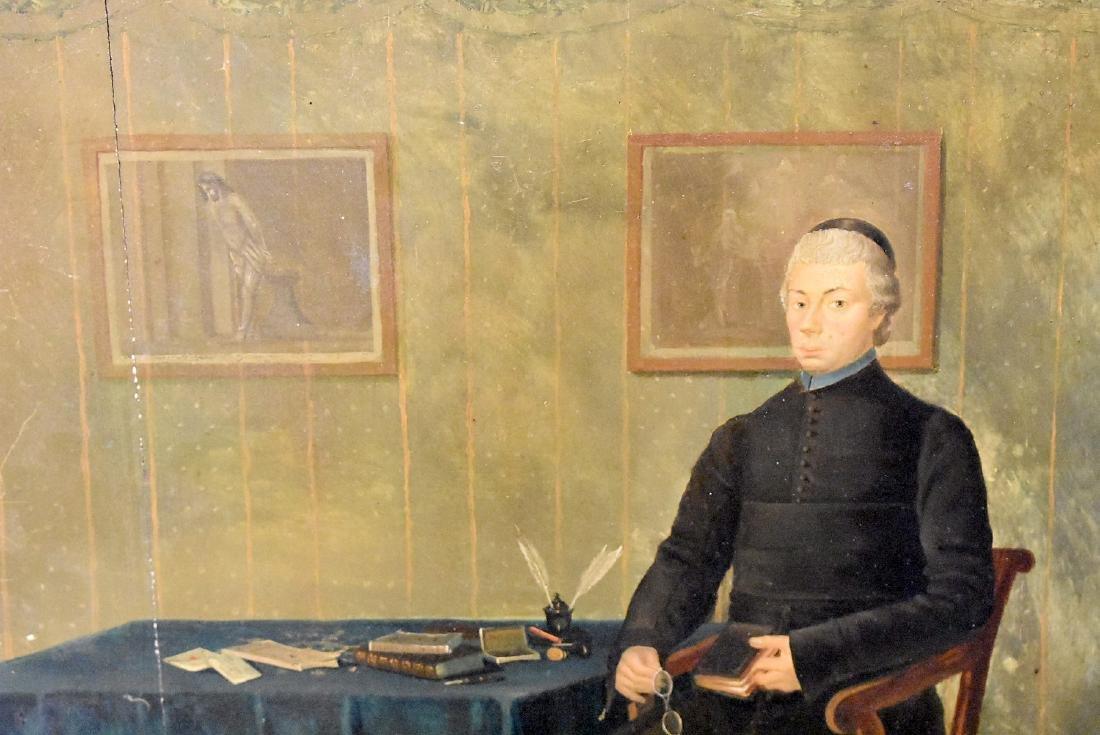 Oil on Panel, Portrait of a Gentleman - 2