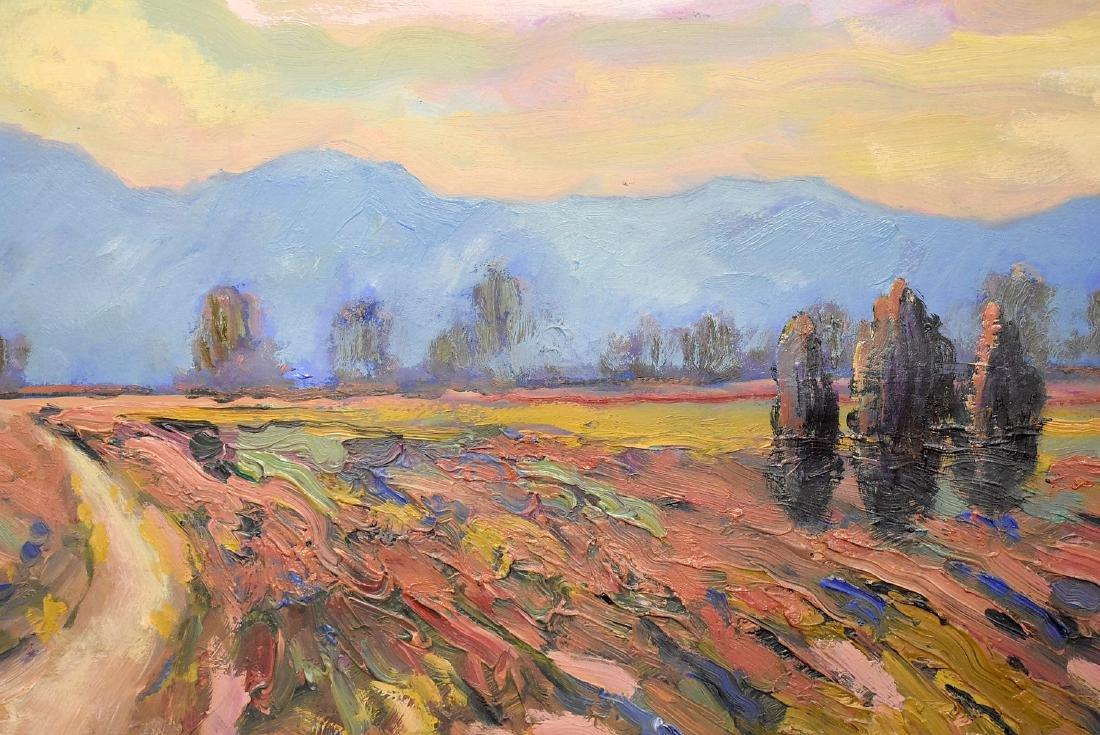 Acrylic on Paper, Southwestern Landscape - 2