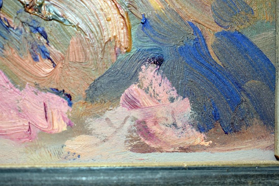 Acrylic on Paper, Southwestern Landscape - 3