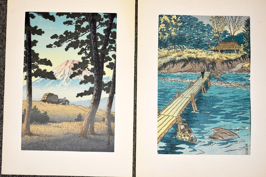 Four Japanese Woodblock Prints - 3