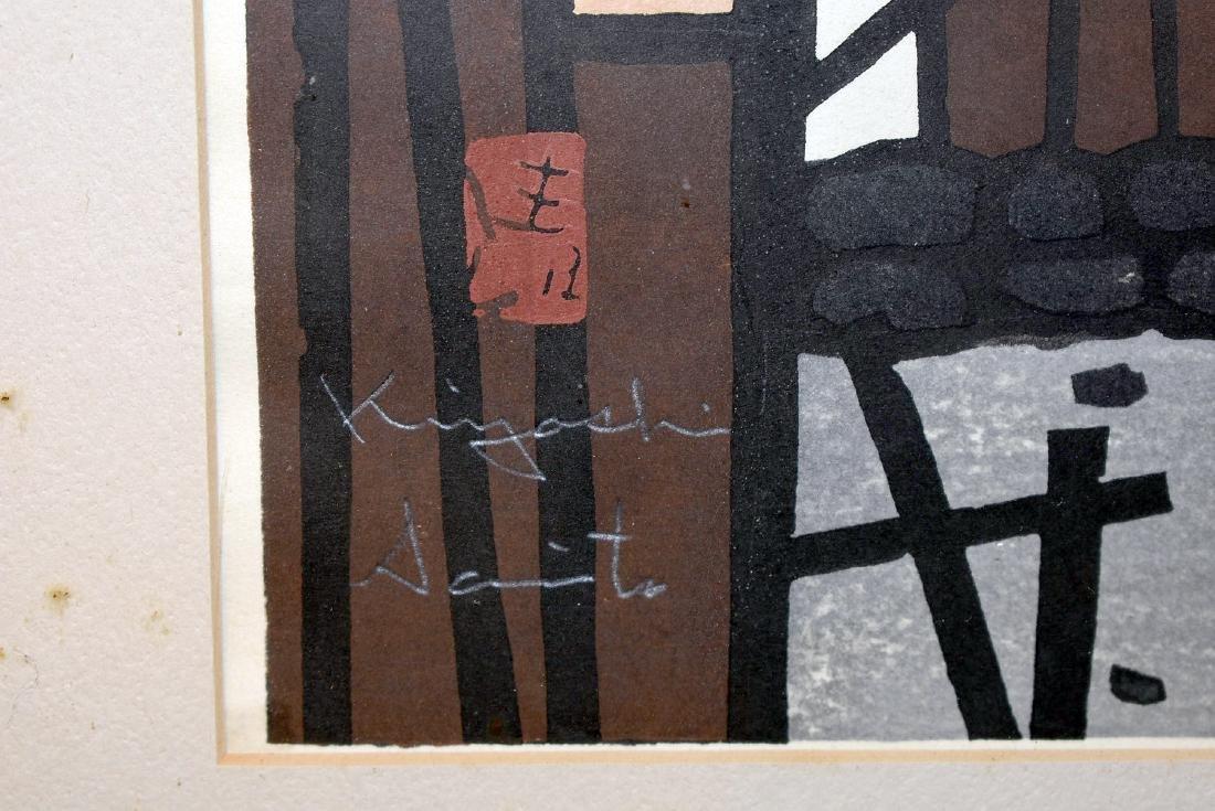 Kiyoshi Saito. Woodblock Print - 2