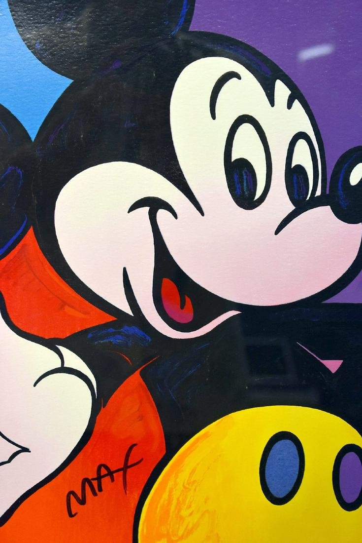 Peter Max. Serigraph, Mickey Mouse - 2