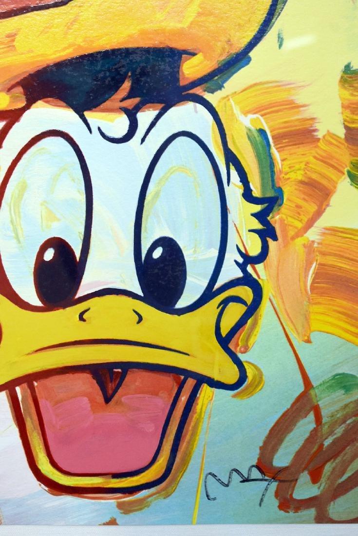 Peter Max. Serigraph, Donald Duck - 2
