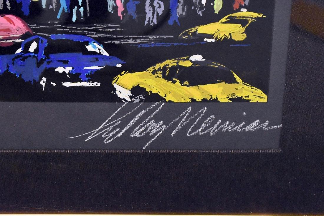 Leroy Neiman. Serigraph, Times Square - 3