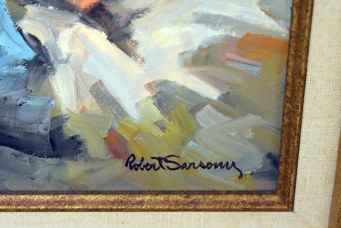 Robert Sarsony. Oil on Canvas, Contemplation - 2