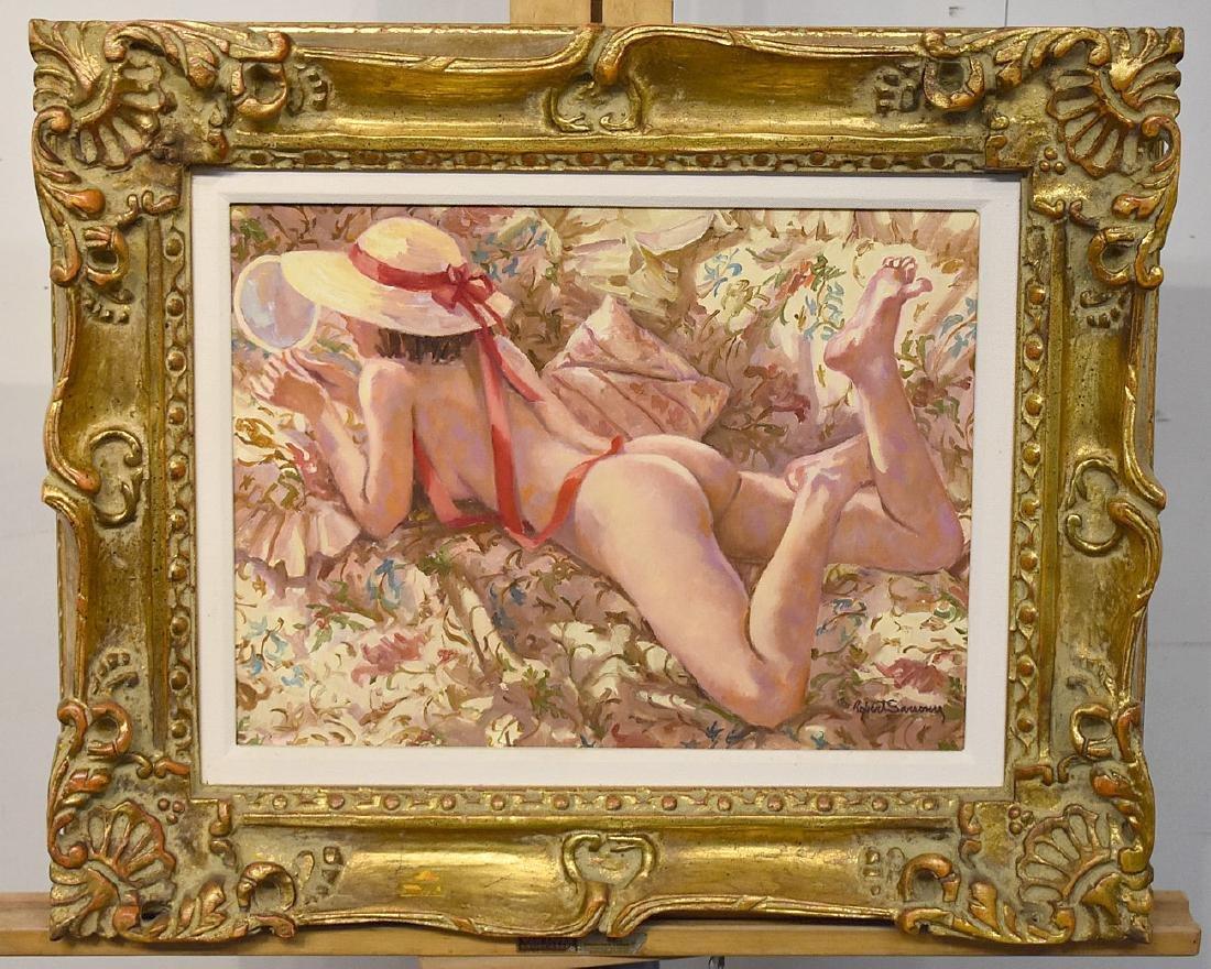 Robert Sarsony. Oil on Canvas, The Mirror