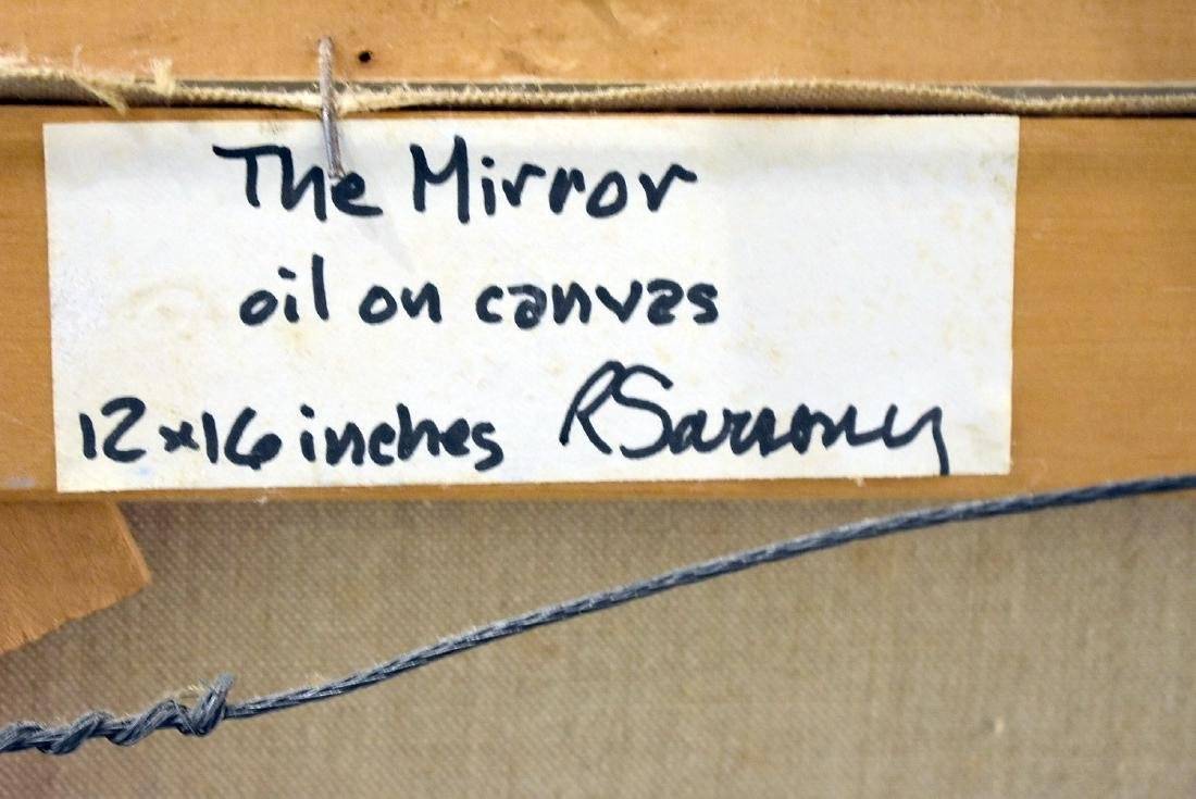 Robert Sarsony. Oil on Canvas, The Mirror - 3