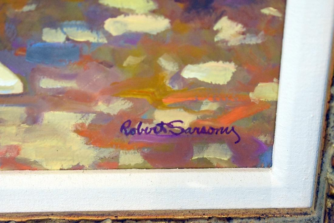 Robert Sarsony. Oil on Canvas, Favorite Book - 2