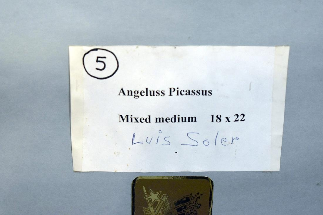 Luis Soler. Mixed Media, Angeluss Picassus - 3