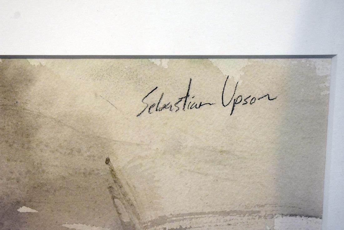 Sebastian Upson. Watercolor, Octagonal Schoolhouse - 3