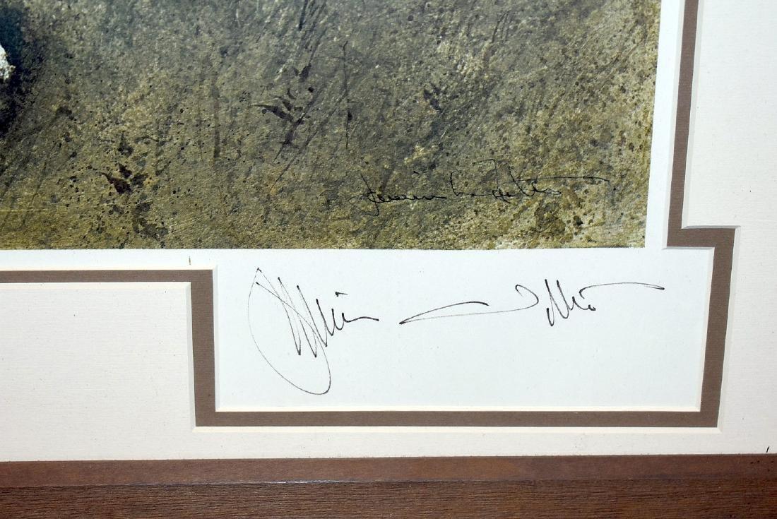 Signed Jamie Wyeth Print, The Capstan - 2