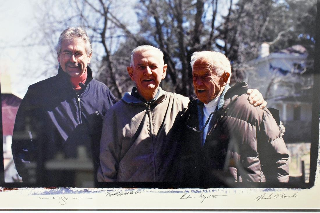 Signed Group Photograph with Andrew Wyeth - 2