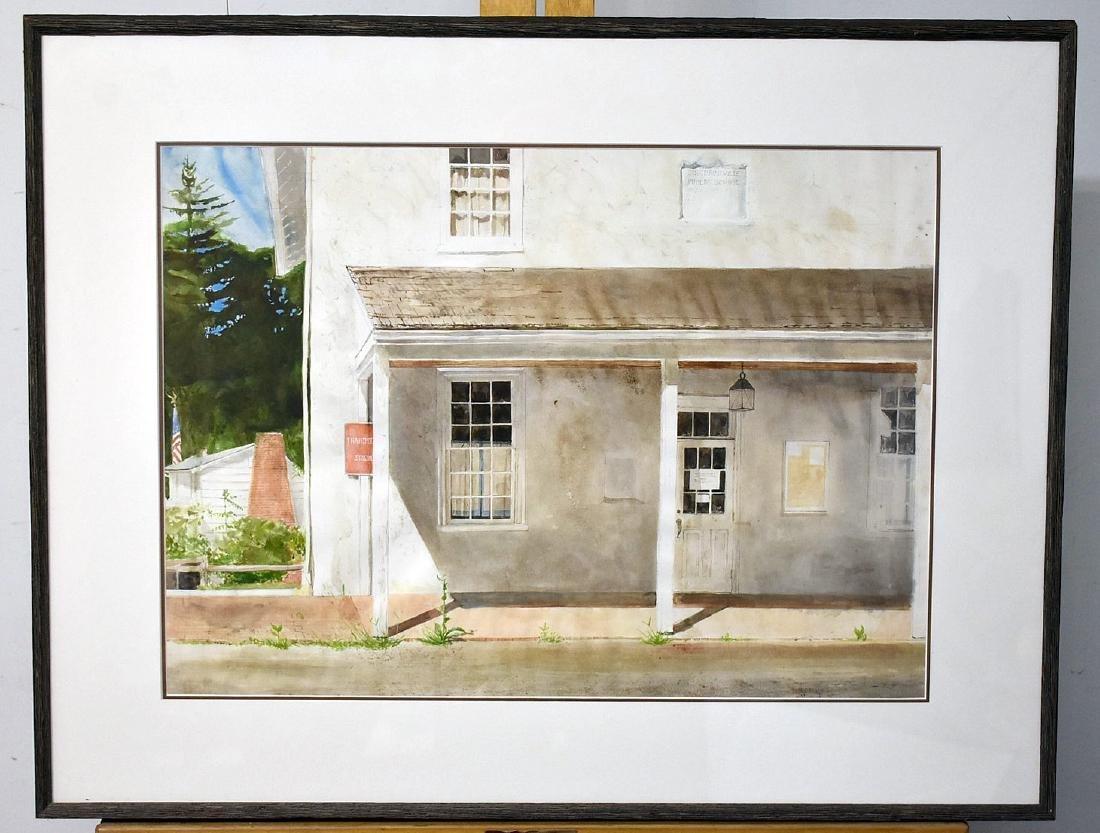 Sebastian Upson. Watercolor, Birchrunville School