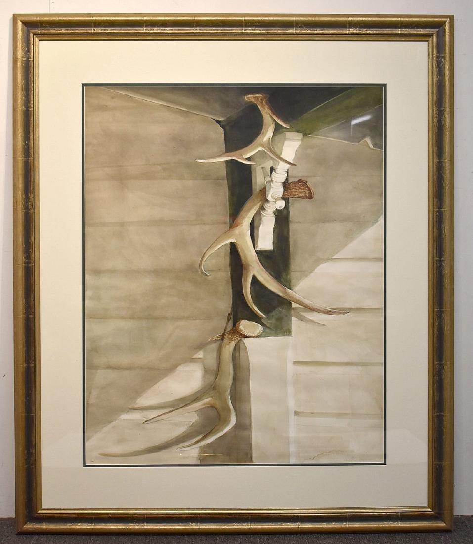 Sebastian Upson. Watercolor, Scout