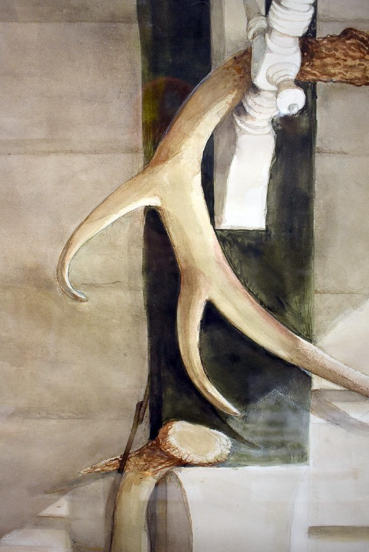 Sebastian Upson. Watercolor, Scout - 2