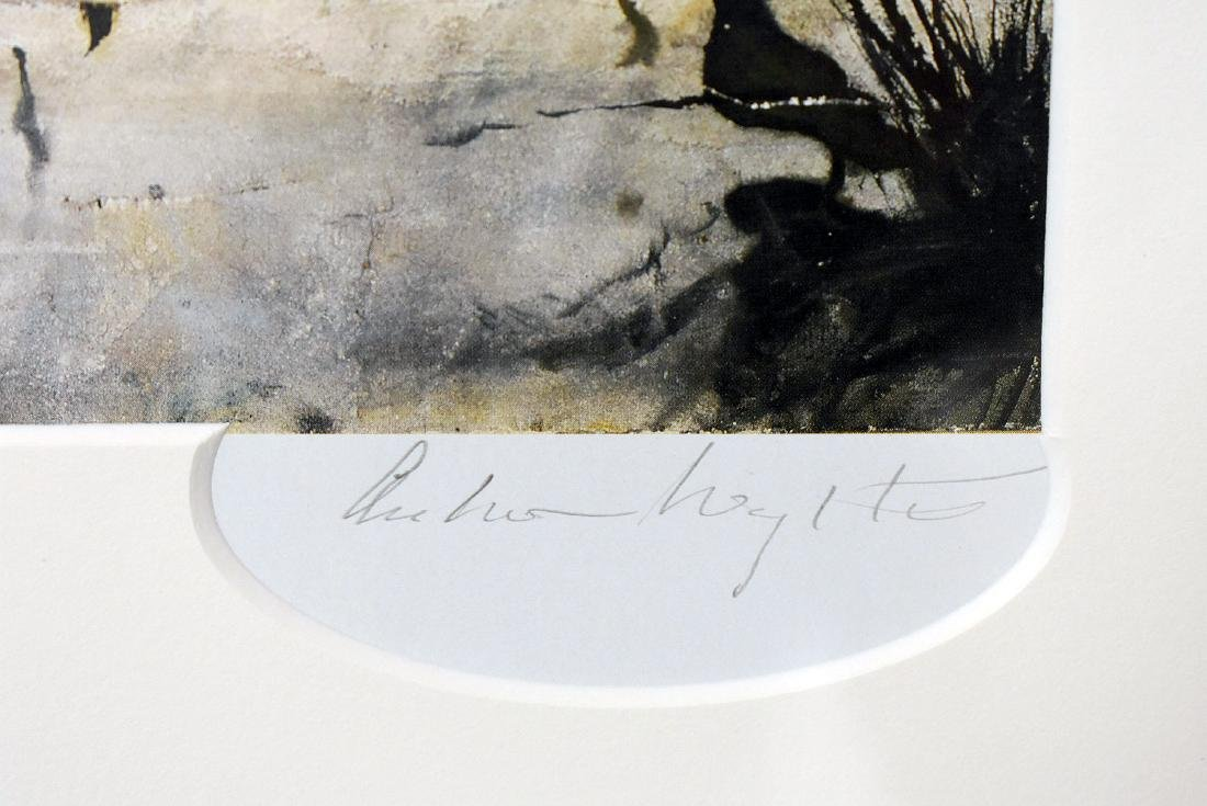 Signed Andrew Wyeth Print, Pioneer House - 2