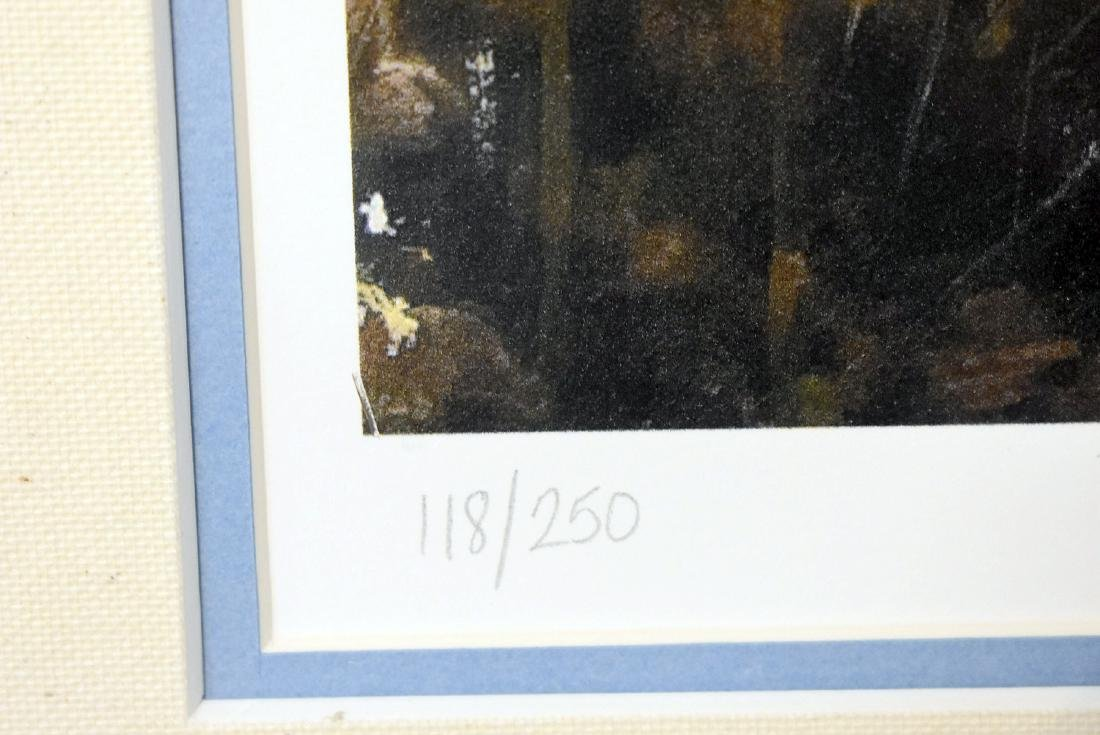 Signed Andrew Wyeth Print, Blueberries - 3