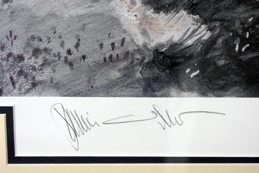 Signed Jamie Wyeth Print, Blueberry Mulch - 2