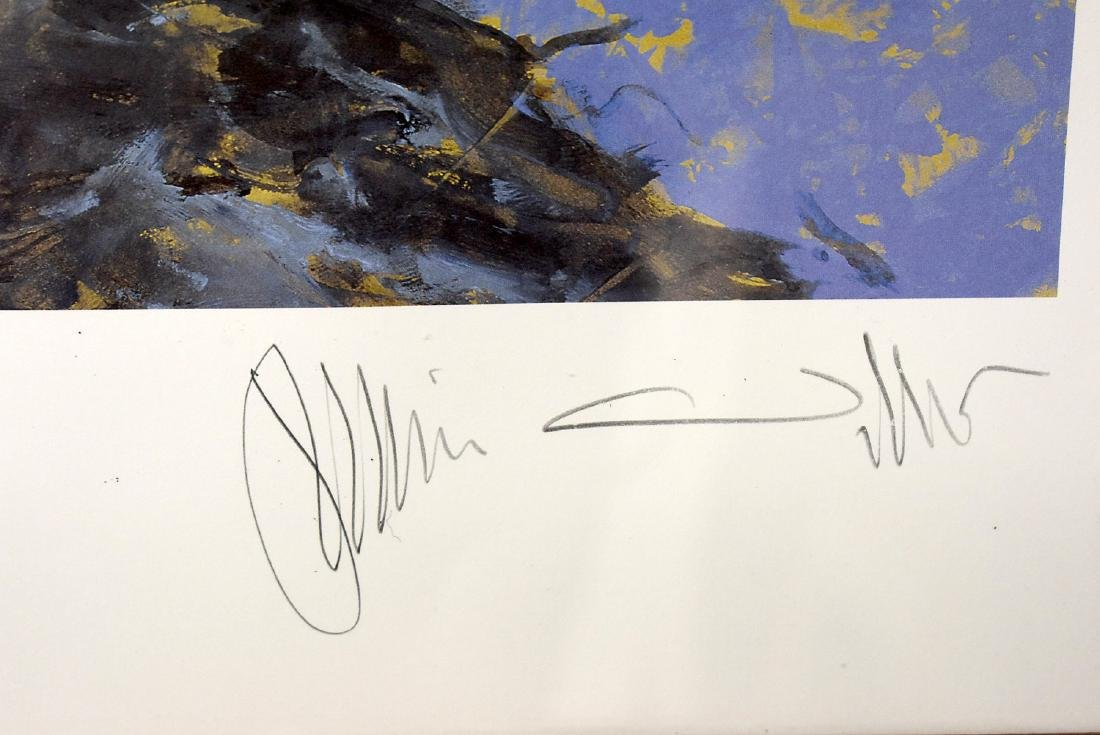 Signed Jamie Wyeth Print, September 11th - 2