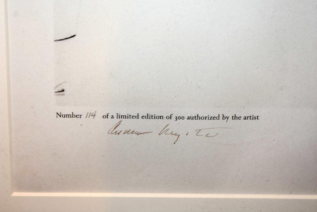 Signed Andrew Wyeth Print, New England - 2