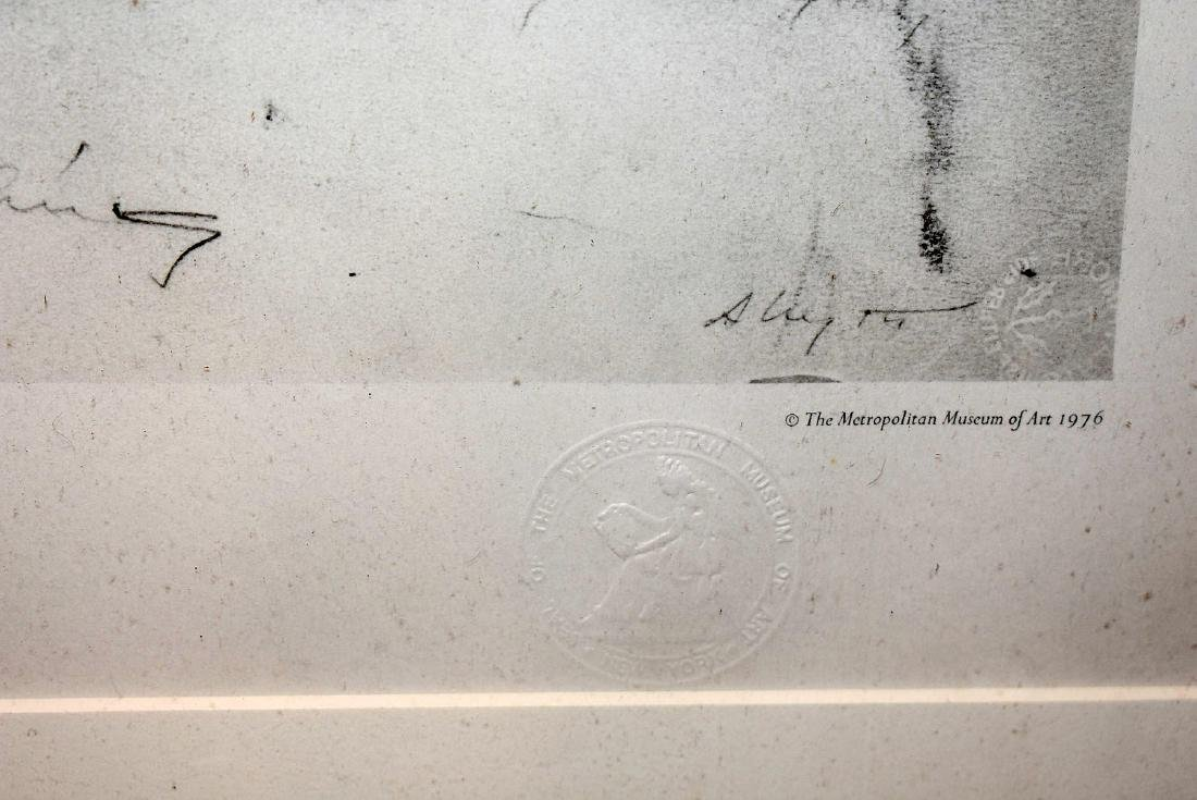 Signed Andrew Wyeth Print, New England - 3