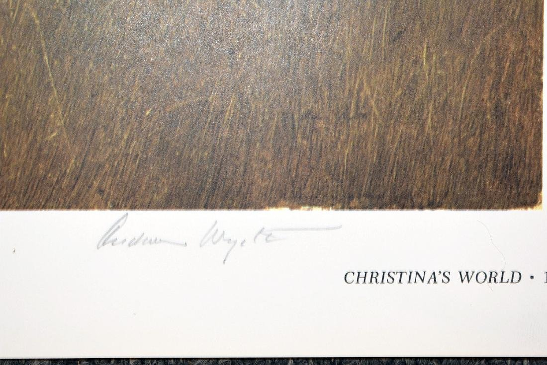 Four Signed Andrew Wyeth Bookplate Prints - 2