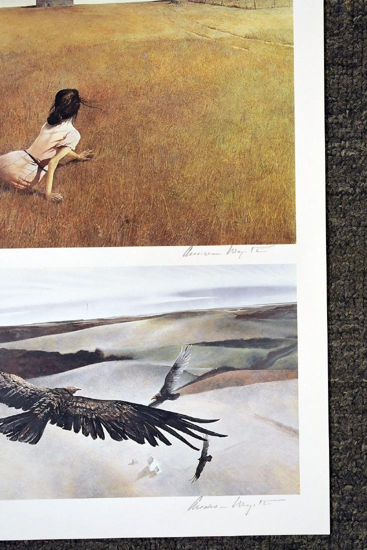 Six Signed Andrew Wyeth Bookplate Prints - 2