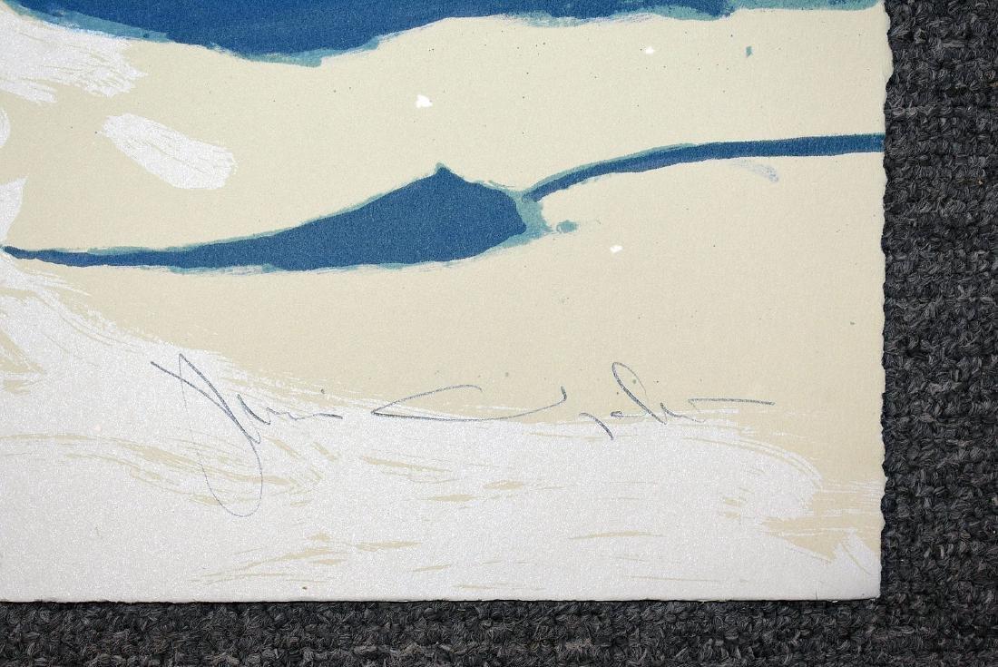 Signed Jamie Wyeth Print, Winter Chimney - 2