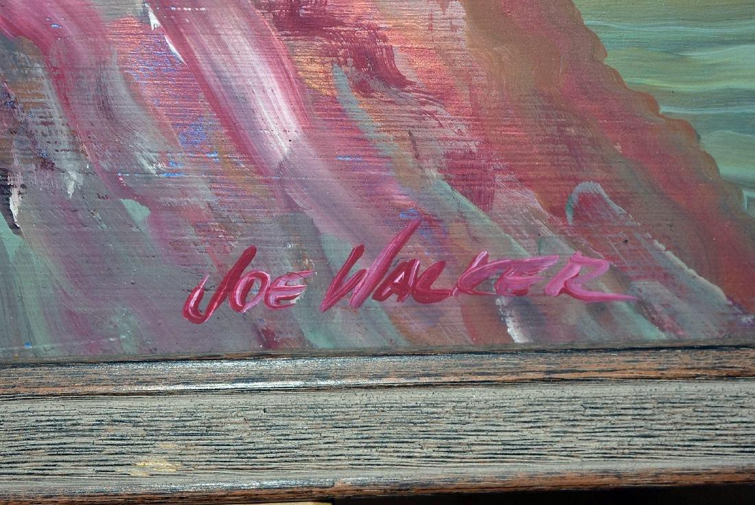 Joe Walker. Oil on Panel, Southwestern Landscape - 2