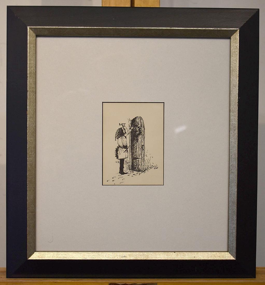 Signed Jamie Wyeth Printed Christmas Card - 2