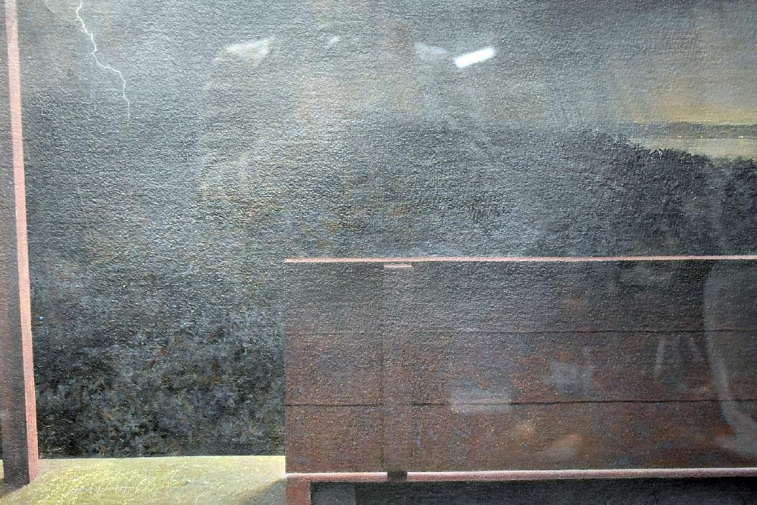 Rob Evans. Mixed Media on Paper, Approaching Storm - 2