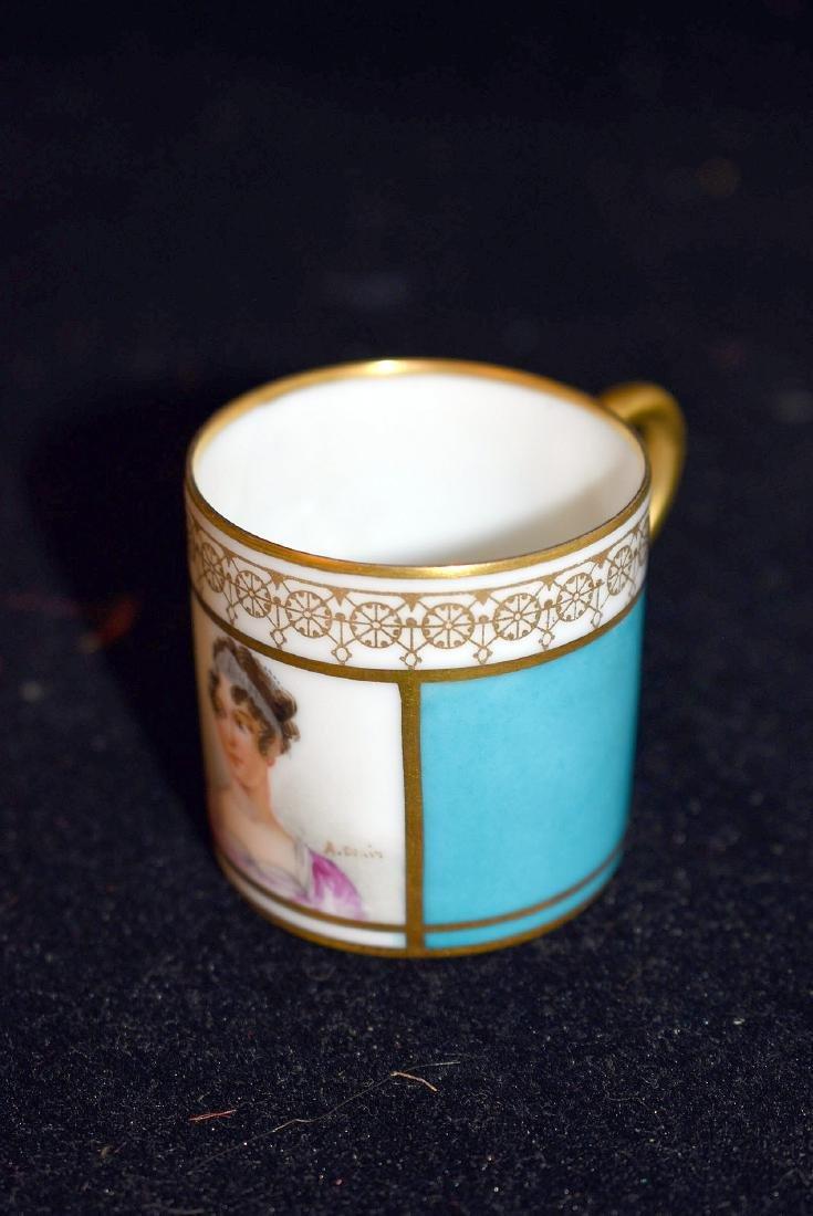 Sevres Porcelain Demitasse Set - 2