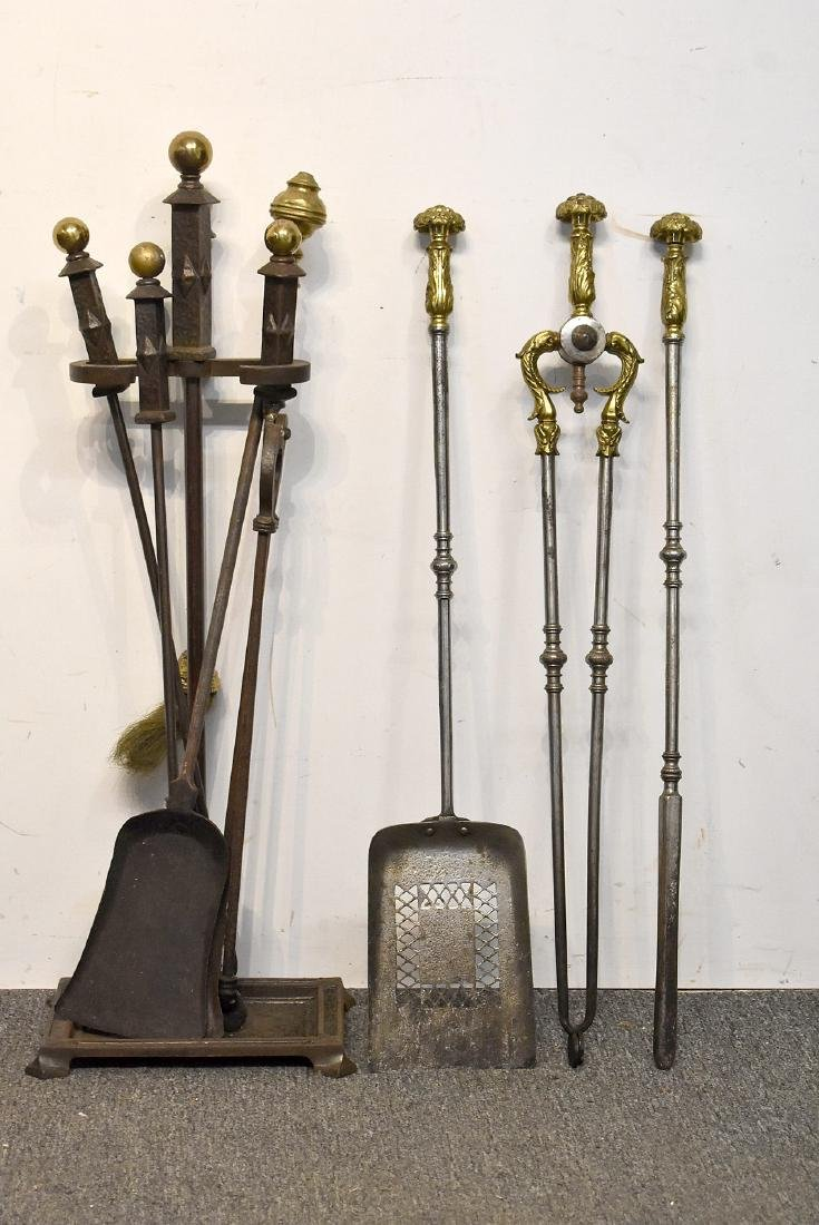 Grouping of Fireplace Tools