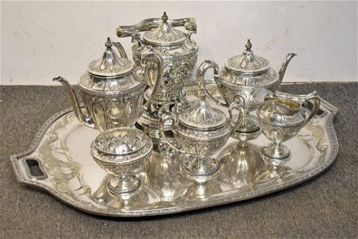 A Stowell Co Sterling Coffee Tea Service Feb 15 2019 Briggs Auction Inc In Pa