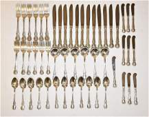 81pc Towle Sterling Silver Flatware Service
