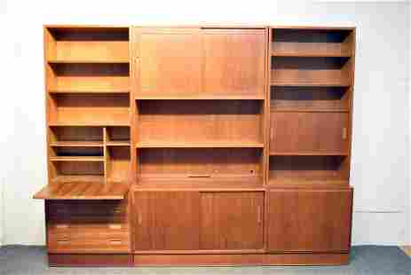 Poul Hundevad Modular Teak Cabinet