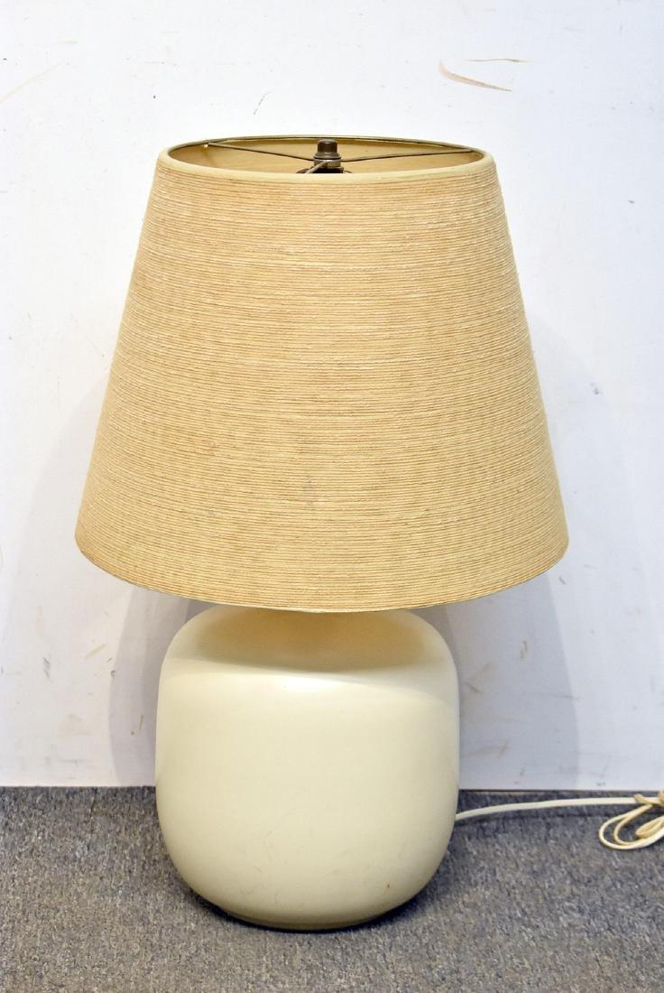 Modern Design Pottery Table Lamp