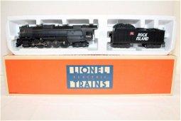 Lionel Rock Island Locomotive and Tender
